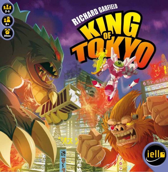 Eat Your Dice: King of Tokyo