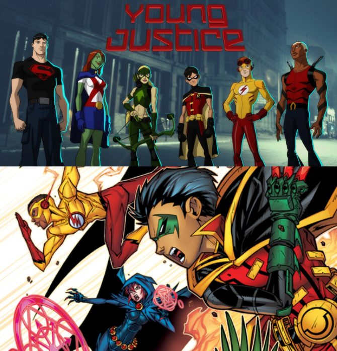 """""""Young Justice: Outsiders"""" and Live-Action """"Titans"""" come to DC New Digital Service in 2018"""