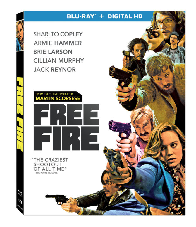 Movie Take-Out: Free Fire (2017) Blu-Ray Review