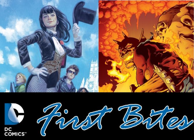 First Bites: DC's The Demon: Hell is Earth #1 & An Interview with Mystic U's Alisa Kwitney and Mike Norton