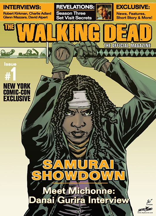 The Walking Dead Magazine Issue 1 Gets a Variant Cover