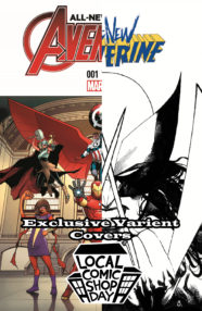 Local Comic Shop Day Brings in Two Exclusive Variant Covers