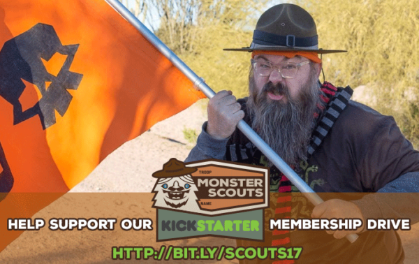 Do you believe in monsters? Then check out this Monster Scouts Kickstarter!