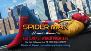 Watch the Spider-Man: Homecoming World Premiere Event Tonight!
