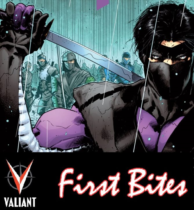 First Bites: Valiant's Ninjak: The Complete Classic Omnibus and Ninja-K #1